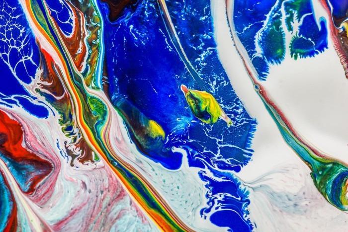 TEXTURA ABSTRATA DE FUNDO - Fotomural Tapiz Abstracto Caída de Agua