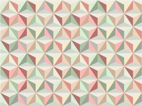 TRIÁNGULO SIN FISURAS PATRÓN 1 500x375 - Fotomural Tapiz Patrón Geométrico de Triángulo 01