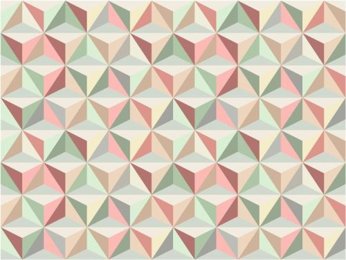 TRIÁNGULO SIN FISURAS PATRÓN 1 500x376 - Fotomural Tapiz Patrón Geométrico de Triángulo 01