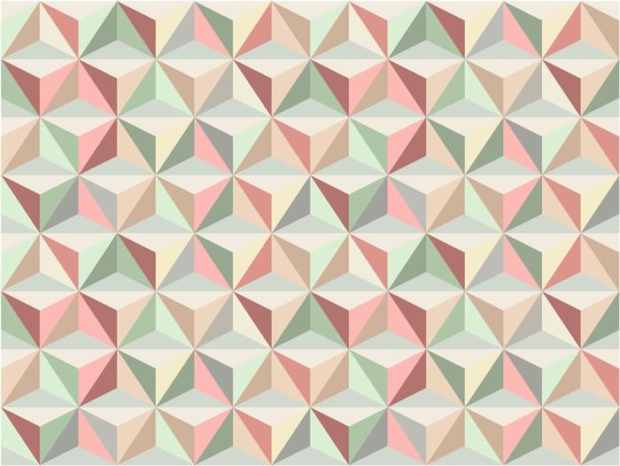 TRIÁNGULO SIN FISURAS PATRÓN 1 - Fotomural Tapiz Patrón Geométrico de Triángulo 01