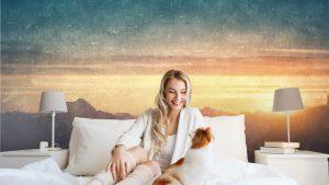 fotomurales autoadhesivos estilos para el dormitorio paisaje de estilo grunge 300x169 - Fotomurales Papel Tapiz Vintage y Old Style