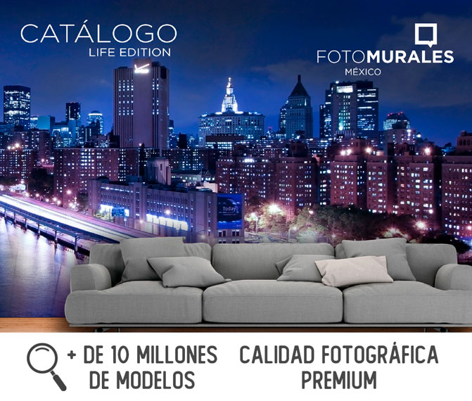 Catalogo life 1 - Fotomurales México Papel Tapiz - Tienda de Decoración Personalizada México
