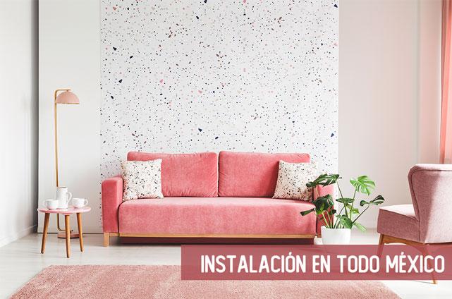 Instalacion en todo Mexico 1 - Fotomurales México Papel Tapiz - Tienda de Decoración Personalizada México